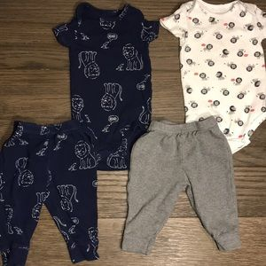 2-For-1 : Carter's Infant Boys Two Piece Sets- 6Mo